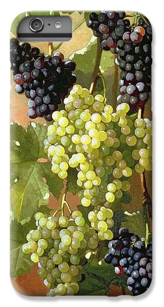 Grapes IPhone 6s Plus Case by Edward Chalmers Leavitt