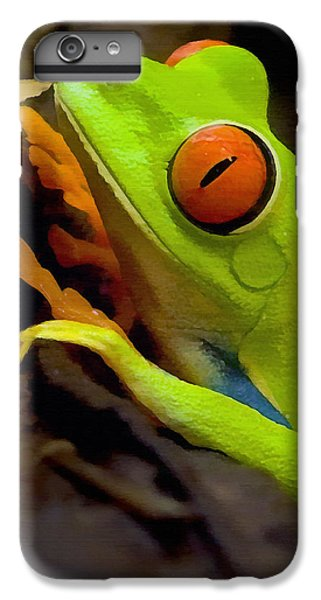 Green Tree Frog IPhone 6s Plus Case by Sharon Foster