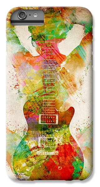 Guitar Siren IPhone 6s Plus Case by Nikki Smith