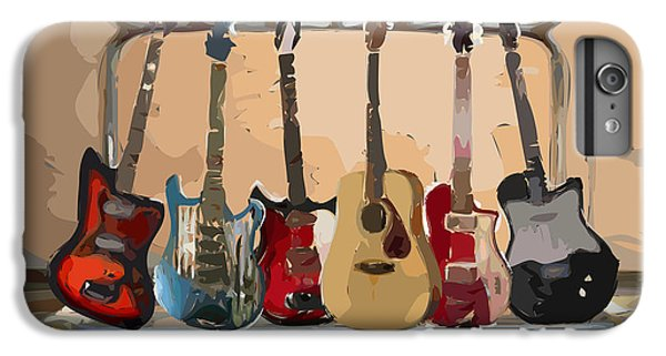 Guitars On A Rack IPhone 6s Plus Case by Arline Wagner