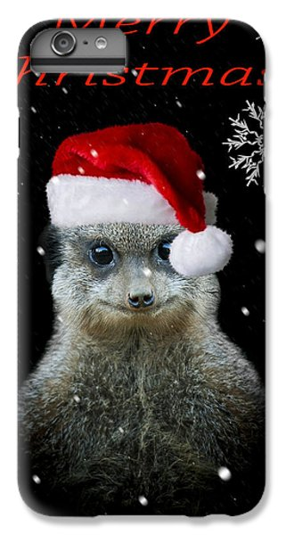 Happy Christmas IPhone 6s Plus Case by Paul Neville