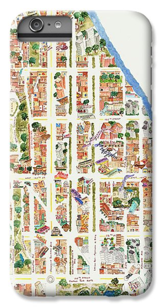 Harlem From 110-155th Streets IPhone 6s Plus Case by Afinelyne