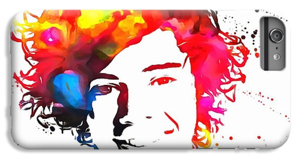 Harry Styles Paint Splatter IPhone 6s Plus Case by Dan Sproul