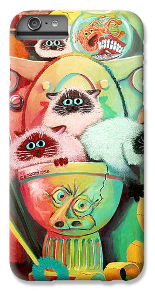Head Cleaners IPhone 6s Plus Case by Baron Dixon