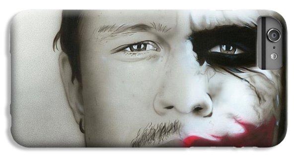 ' Heath Ledger / Joker ' IPhone 6s Plus Case by Christian Chapman Art