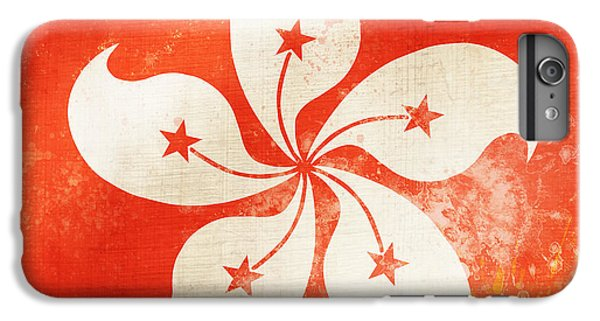 Hong Kong China Flag IPhone 6s Plus Case by Setsiri Silapasuwanchai