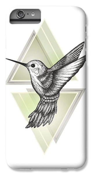 Hummingbird IPhone 6s Plus Case by Barlena