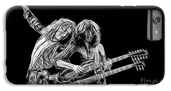 Jimmy Page And Robert Plant Collection IPhone 6s Plus Case by Marvin Blaine