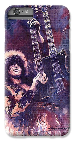 Jimmy Page  IPhone 6s Plus Case by Yuriy  Shevchuk