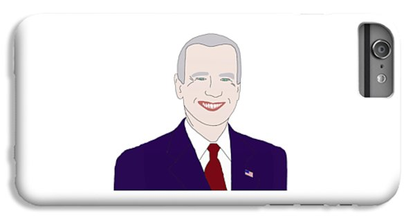 Joe Biden IPhone 6s Plus Case by Priscilla Wolfe