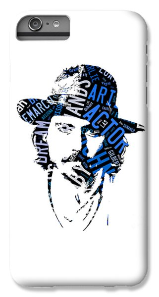 Johnny Depp Movie Titles IPhone 6s Plus Case by Marvin Blaine