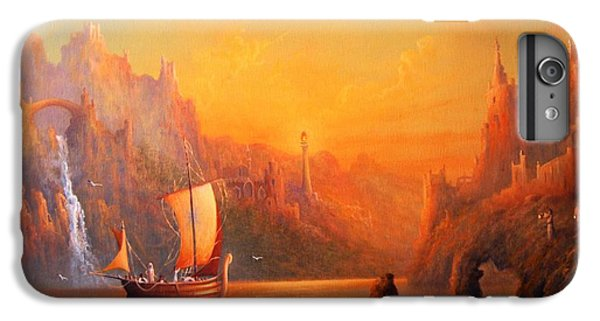 Journey To The Undying Lands IPhone 6s Plus Case by Joe  Gilronan