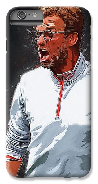 Jurgen Kloop IPhone 6s Plus Case by Semih Yurdabak