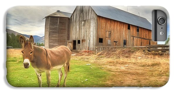 Just Another Day On The Farm IPhone 6s Plus Case by Donna Kennedy