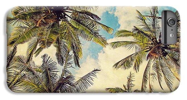 Kauai Island Palms - Blue Hawaii Photography IPhone 6s Plus Case by Melanie Alexandra Price