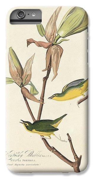 Kentucky Warbler IPhone 6s Plus Case by John James Audubon