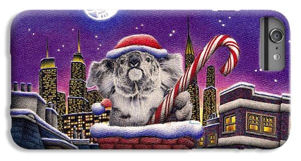 Koala In Chimney IPhone 6s Plus Case by Remrov