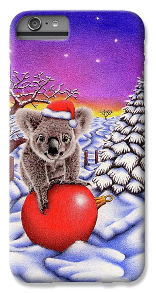 Koala On Christmas Ball IPhone 6s Plus Case by Remrov