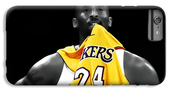 Kobe Bryant 04c IPhone 6s Plus Case by Brian Reaves