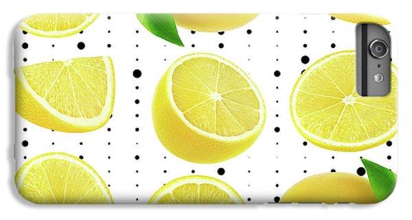 Lemon  IPhone 6s Plus Case by Mark Ashkenazi