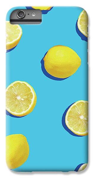 Lemon Pattern IPhone 6s Plus Case by Rafael Farias