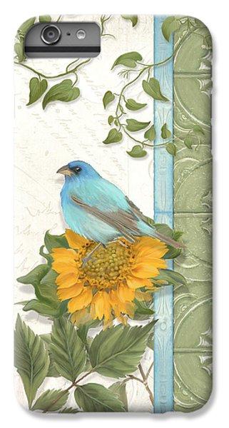 Les Magnifiques Fleurs Iv - Secret Garden IPhone 6s Plus Case by Audrey Jeanne Roberts