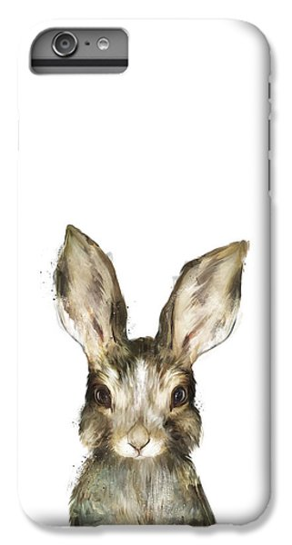 Little Rabbit IPhone 6s Plus Case by Amy Hamilton