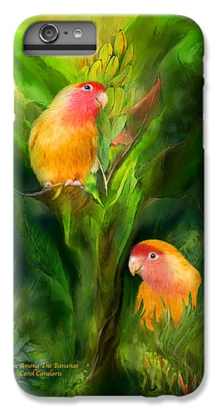 Love Among The Bananas IPhone 6s Plus Case by Carol Cavalaris