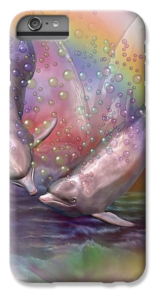 Love Bubbles IPhone 6s Plus Case by Carol Cavalaris