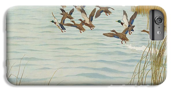 Mallards In Autumn IPhone 6s Plus Case by Newell Convers Wyeth