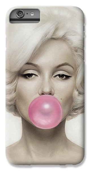 Marilyn Monroe IPhone 6s Plus Case by Vitor Costa