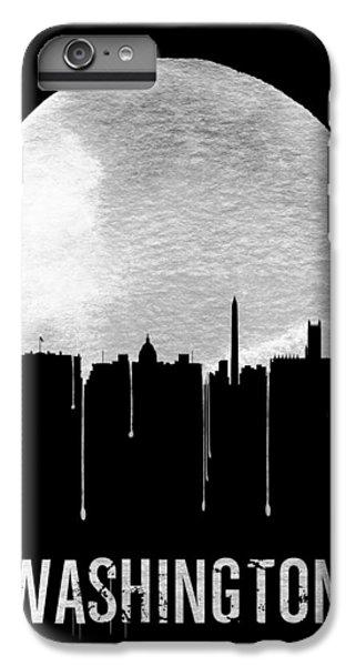 Memphis Skyline Black IPhone 6s Plus Case by Naxart Studio