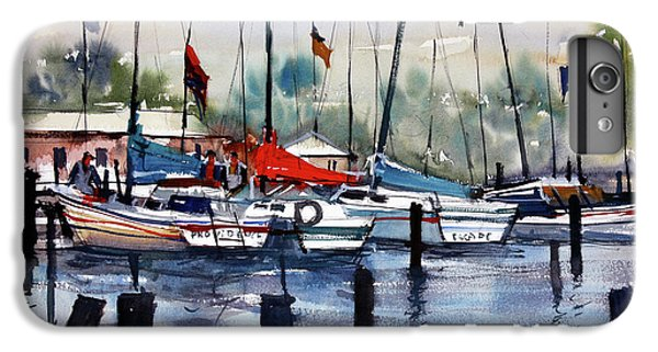 Menominee Marina IPhone 6s Plus Case by Ryan Radke