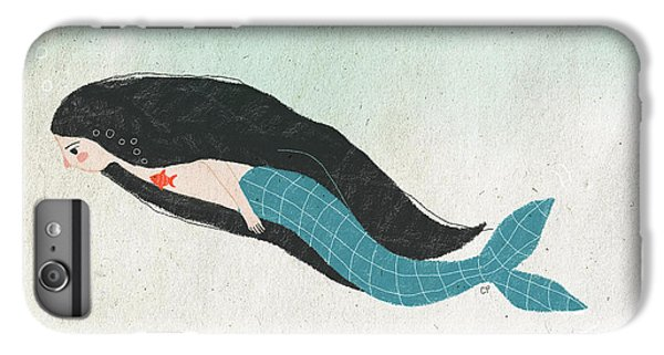 Mermaid IPhone 6s Plus Case by Carolina Parada
