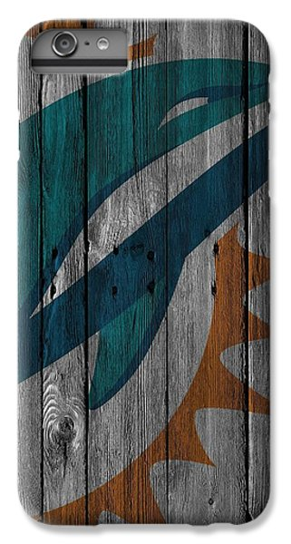 Miami Dolphins Wood Fence IPhone 6s Plus Case by Joe Hamilton