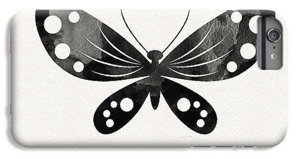 Midnight Butterfly 3- Art By Linda Woods IPhone 6s Plus Case by Linda Woods