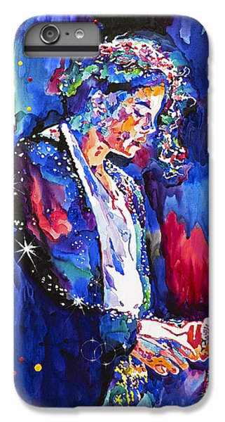 Mj Final Performance II IPhone 6s Plus Case by David Lloyd Glover