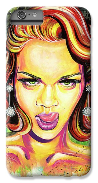 Monroe Gone Bad IPhone 6s Plus Case by Aramis Hamer