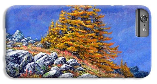Mountain Tamaracks IPhone 6s Plus Case by Frank Wilson