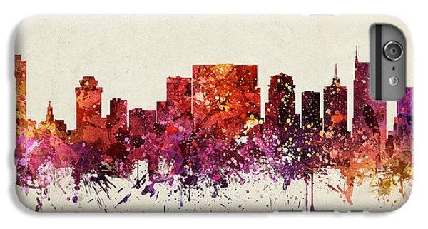 Nashville Cityscape 09 IPhone 6s Plus Case by Aged Pixel