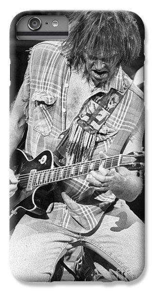 Neil Young IPhone 6s Plus Case by David Plastik