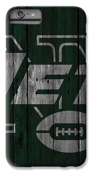 New York Jets Wood Fence IPhone 6s Plus Case by Joe Hamilton