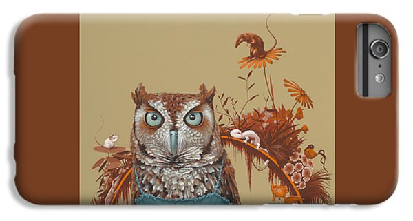 Northern Screech Owl IPhone 6s Plus Case by Jasper Oostland