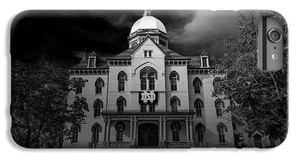 Notre Dame University Black White 3a IPhone 6s Plus Case by David Haskett