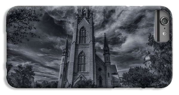 Notre Dame University Church IPhone 6s Plus Case by David Haskett