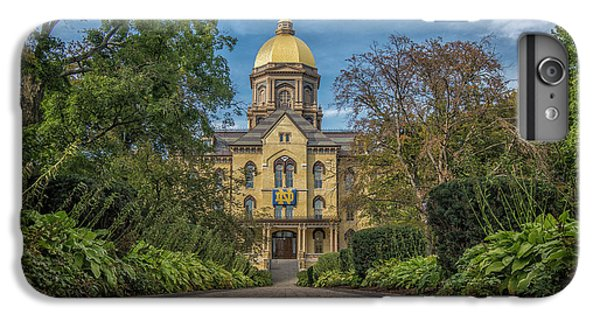 Notre Dame University Q1 IPhone 6s Plus Case by David Haskett