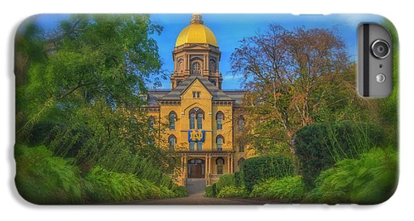 Notre Dame University Q2 IPhone 6s Plus Case by David Haskett