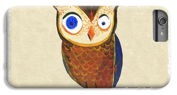 Owl IPhone 6s Plus Case by Kristina Vardazaryan