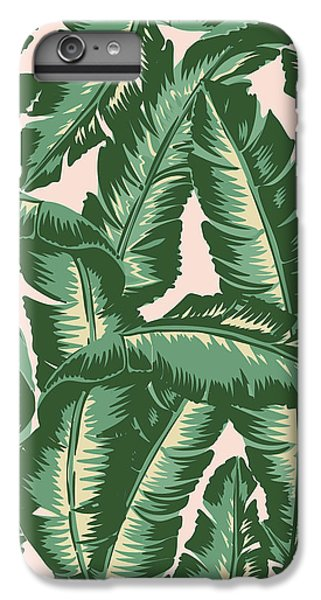 Palm Print IPhone 6s Plus Case by Lauren Amelia Hughes