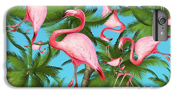 Palm Tree IPhone 6s Plus Case by Mark Ashkenazi